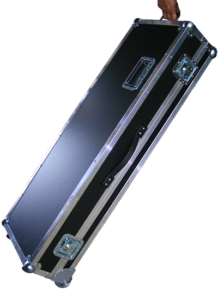 Koffer+Haube Standard-E1 mit Eckrollen